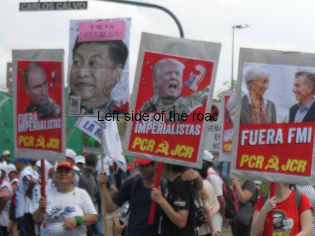 Anti-G-20 Summit Demonstration 2018