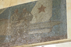 Red Air Force Mosaic - Avtozavodskaya Metro Station