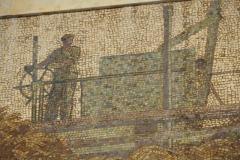 Collectivised Agriculture Mosaic - Avtozavodskaya Metro Station