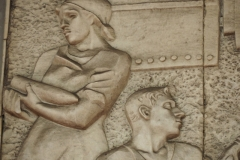 Engineering Bas Relief - Avtozavodskaya Metro Station