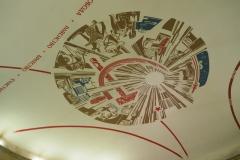 Dome painting - Avtozavodskaya Metro Station