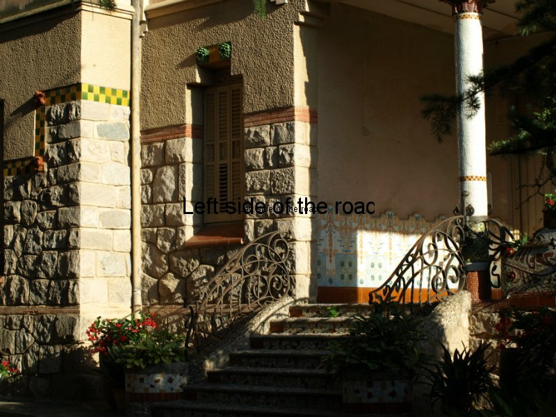 Main porch -Casa Barbey, La Garriga