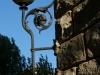 Wrought iron lamp -Casa Barbey, La Garriga