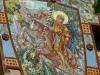 Sant Jordi mosaic - Casa Barbey, La Garriga