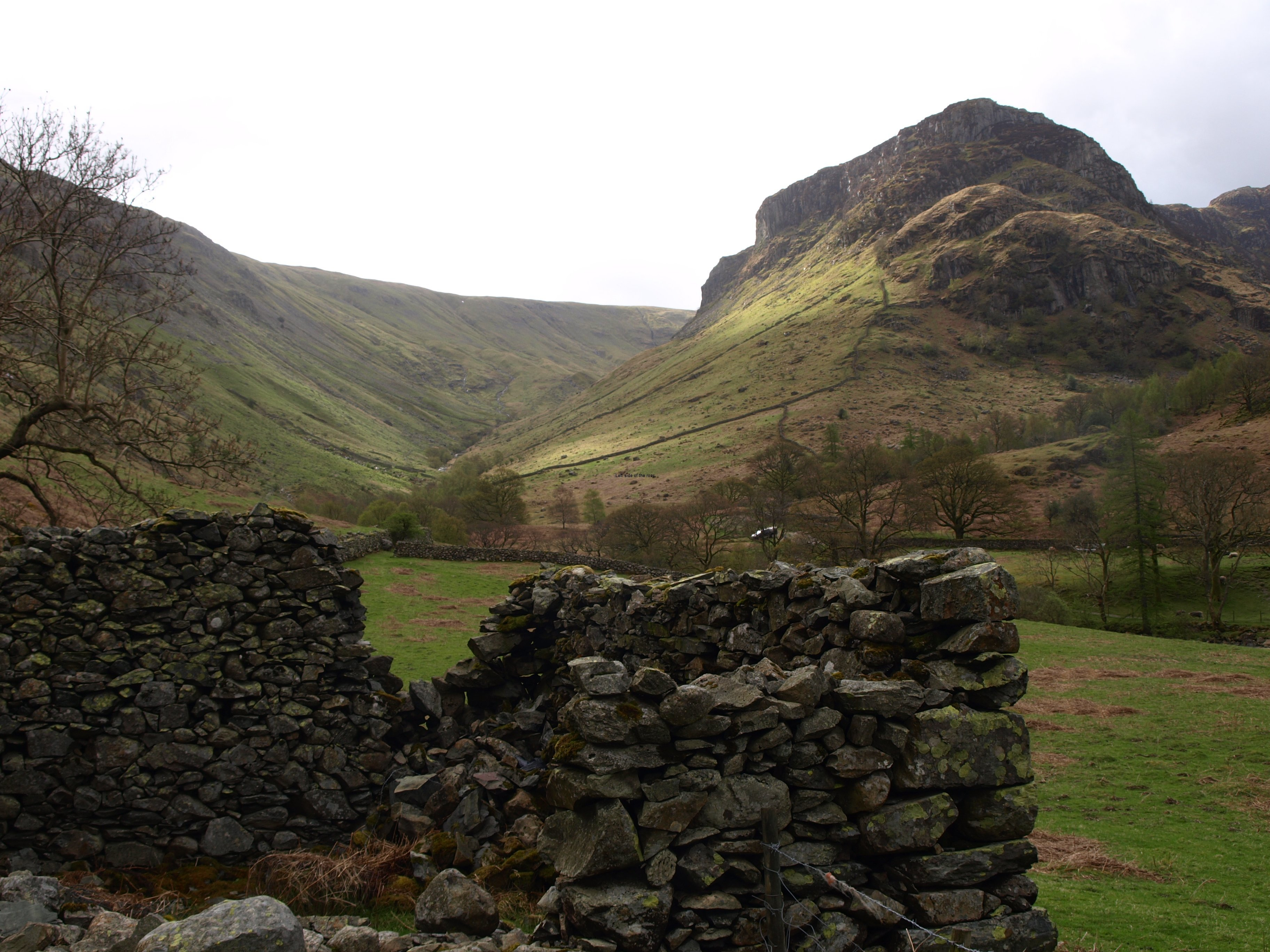 Honister Hause to Grasmere