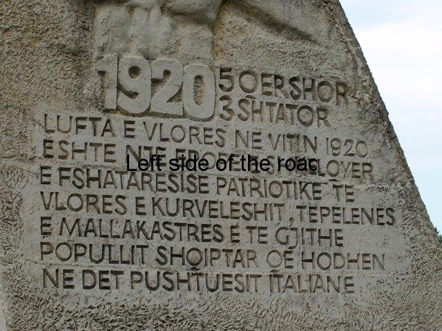 Drashovice Arch, Vlora - Mumtaz Dhrami