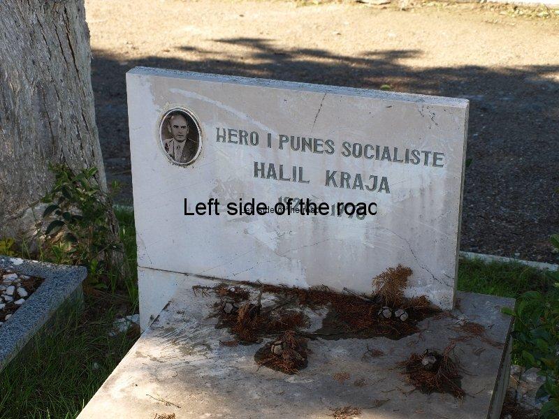 Socialist grave, Tirana