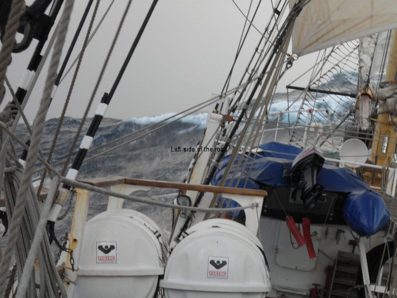 Sailing in the western Atlantic