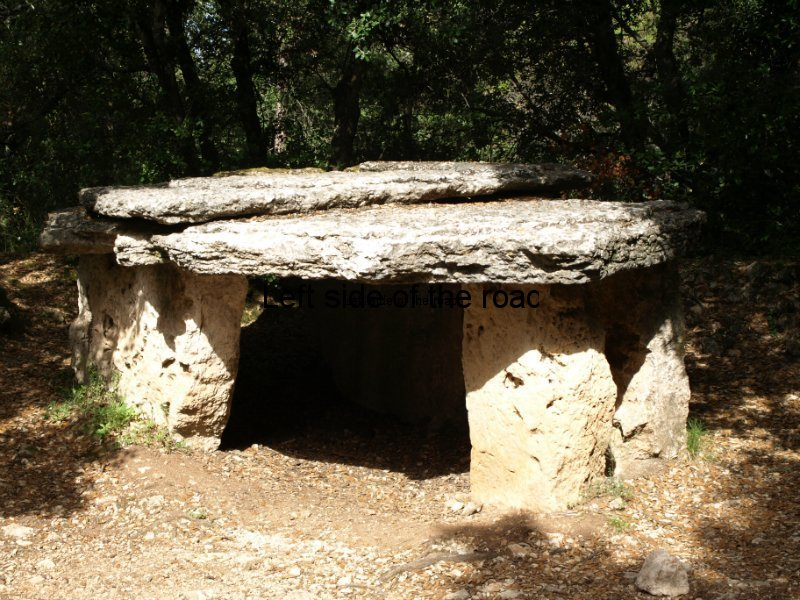 Neolithic construction, Aiguafreda, Congost valley, Catalonia