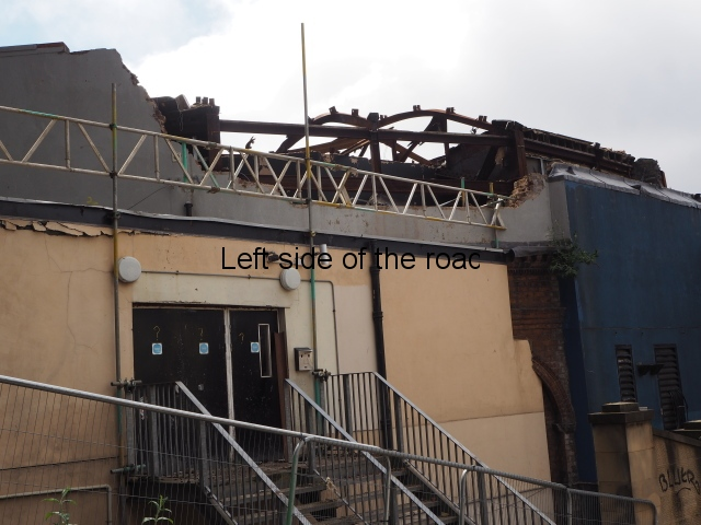 Glasgow (Burnt) School of Art - local consequences