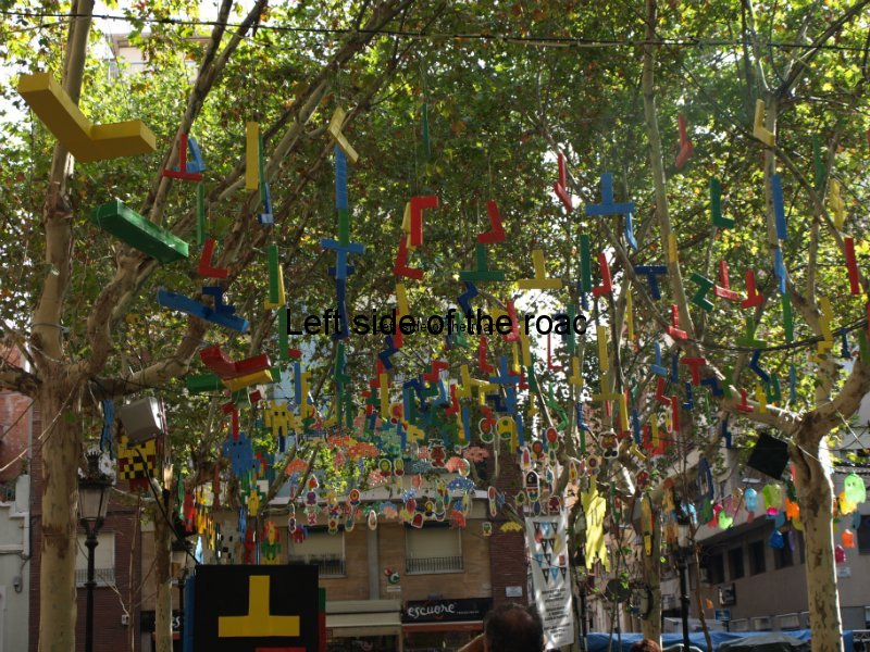 Rovira - Carrers Guarnits, Gracia, Festa Major, Barcelona, 2012