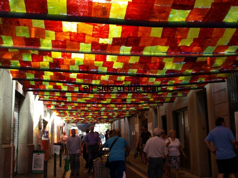 Fraternitat - Carrers Guarnits, Gracia, Festa Major, Barcelona, 2012