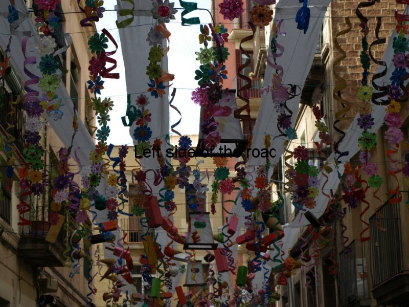 Camprodon - Carrers Guarnits, Gracia, Festa Major, Barcelona, 2012