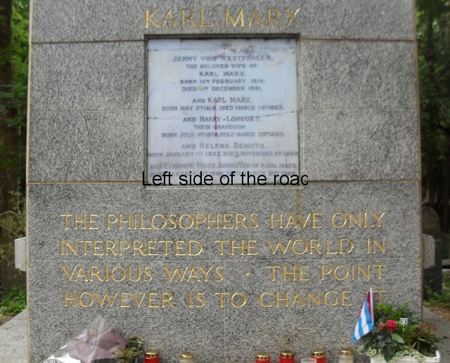 Karl Marx Tommb and Memorial, London