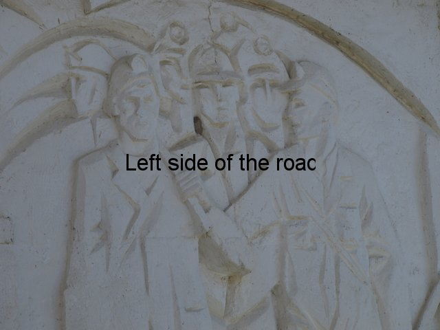 Krrabe miners bas-relief