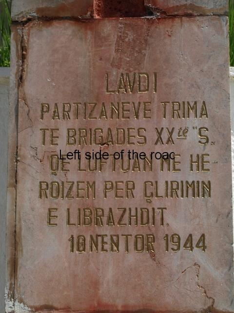 20th Brigade - Librazhd