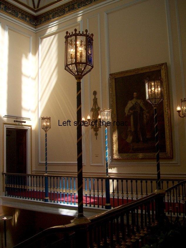 Town Hall Wyatt staircase landing