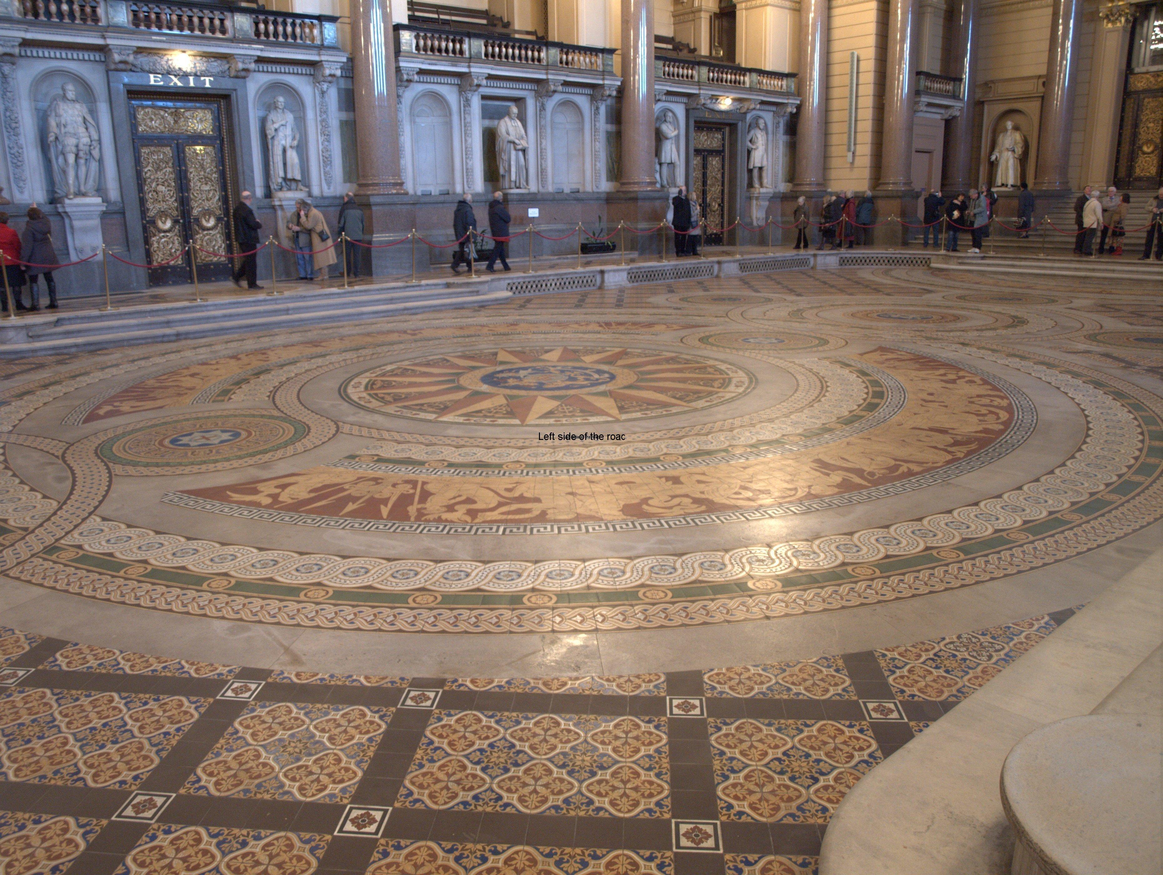 St George S Hall Minton Tile Floor Liverpoolleft Side Of