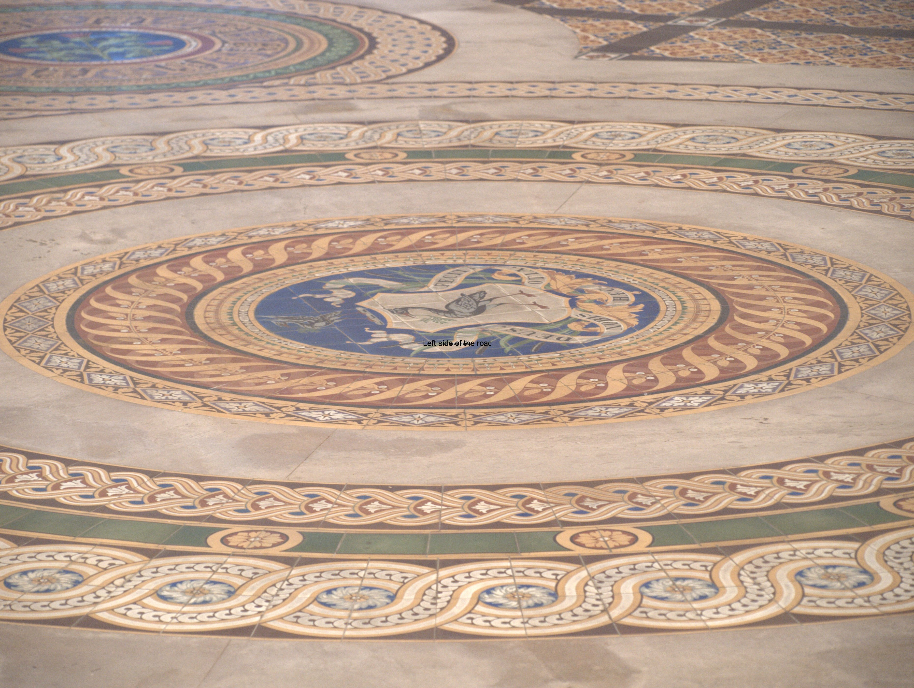 Minton Tile Floor, St George's Hall Liverpool