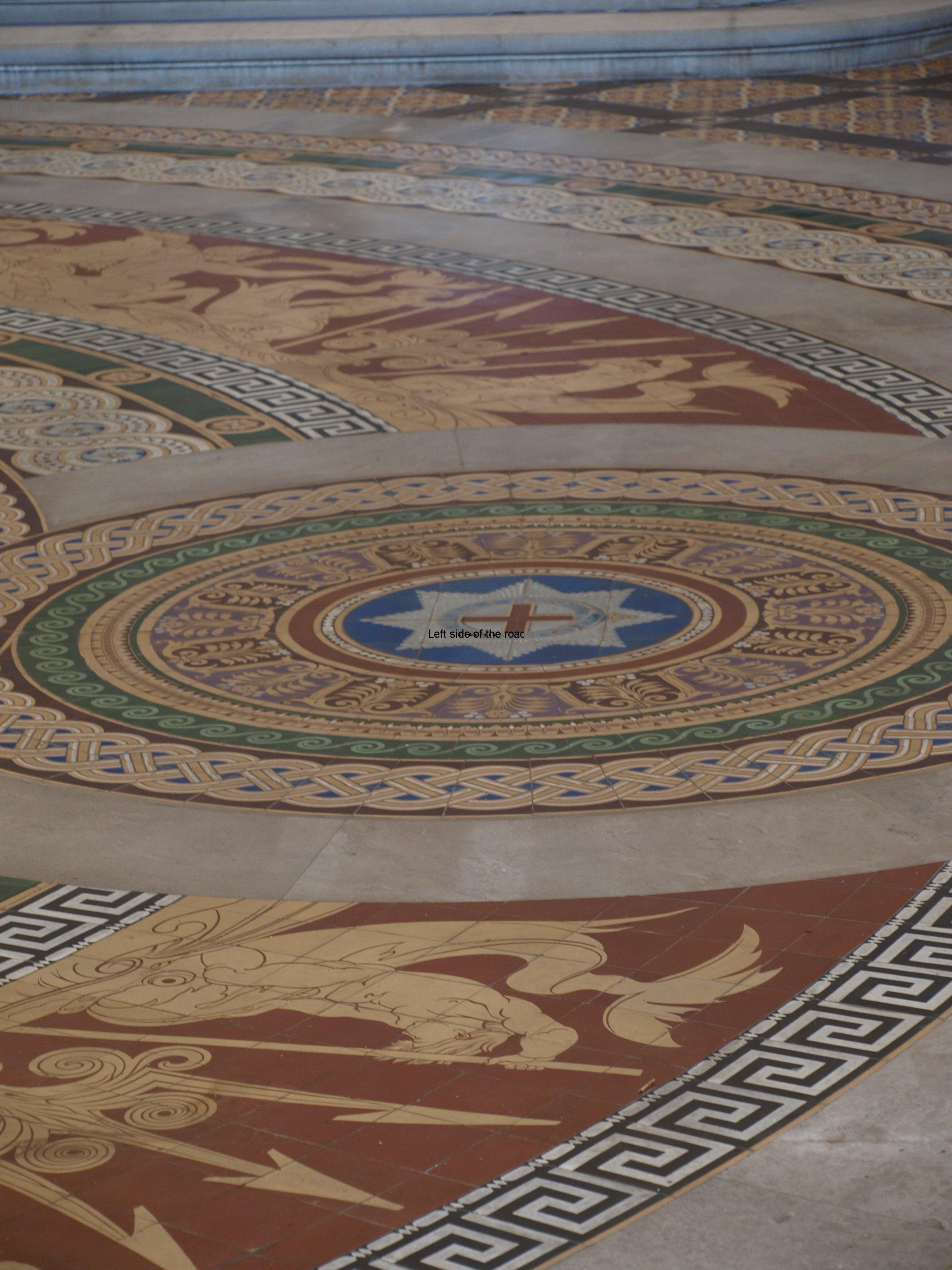 Minton Tile Floor, St George's Hall Liverpool