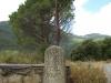 Vilar gatepost - Walk from Montseny to Taganament