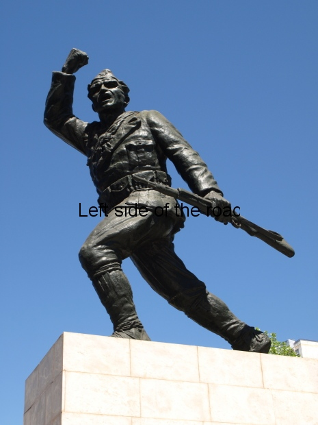 Monument to the Partisan - Tirana