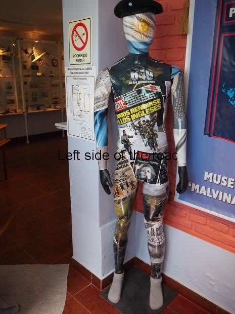 Museum of the Malvinas War - Rio Gallegos