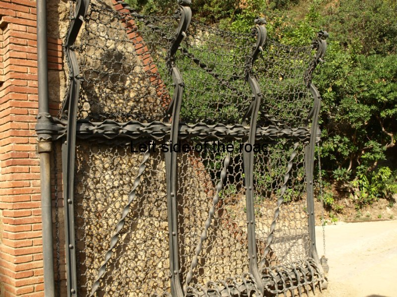 Wrought Iron gate - Parc Guell, Barcelona