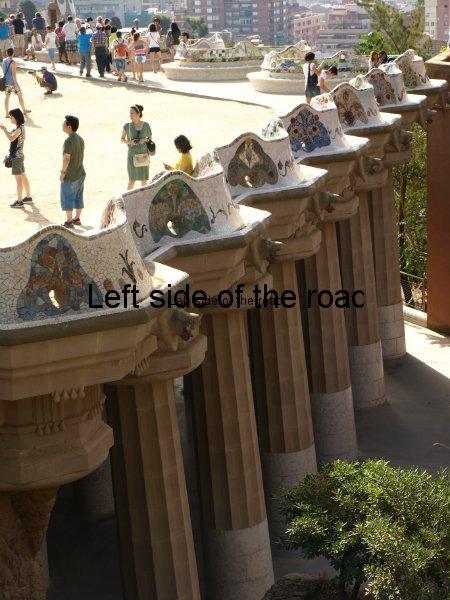 Main Terrace - Parc Guell, Barcelona