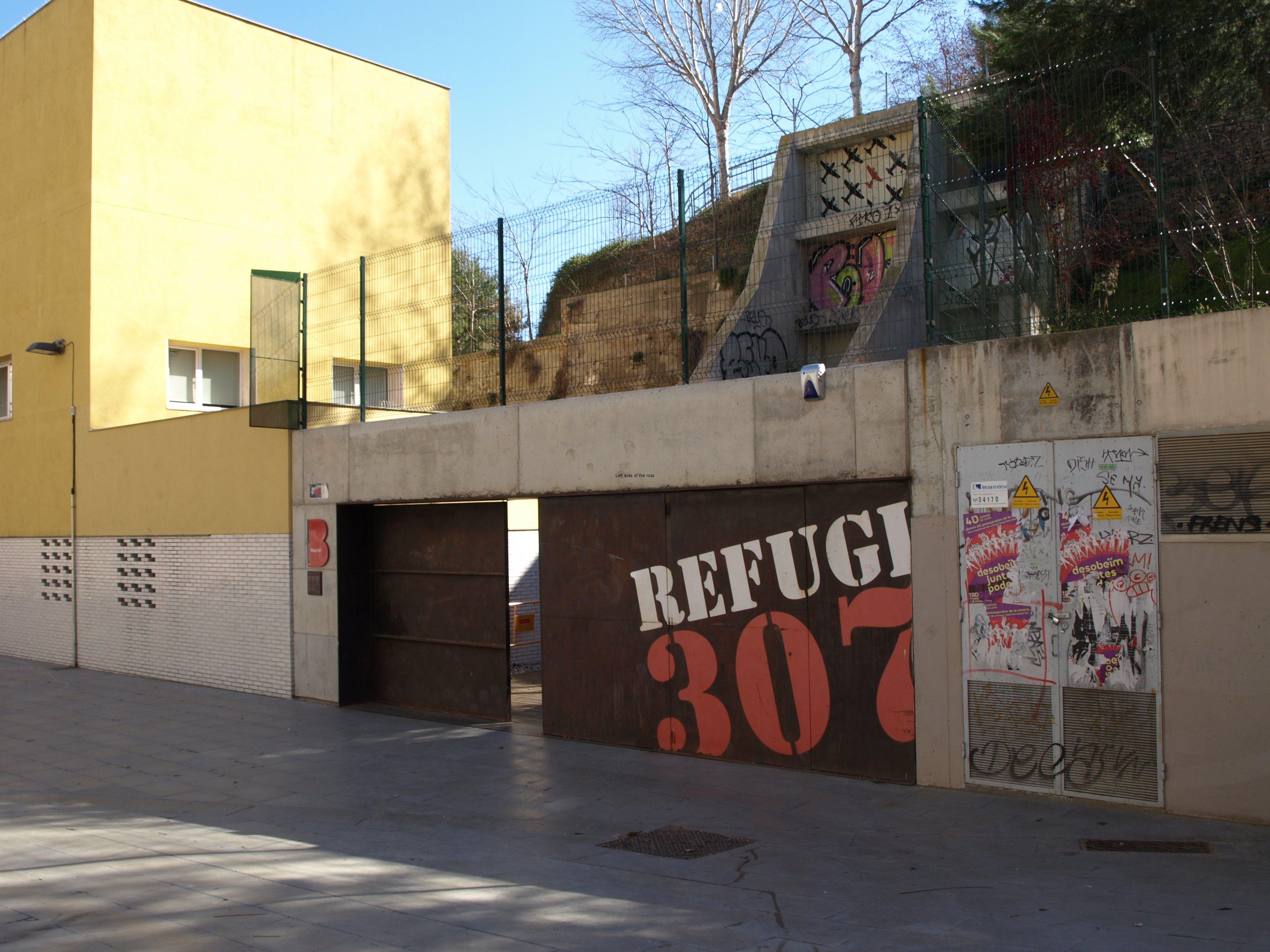 Refugi 307, Poble Sec, Barcelona