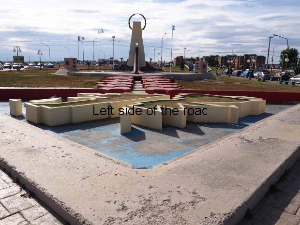 Monument to the Fallen in Las Malvinas - Rio Gallegos