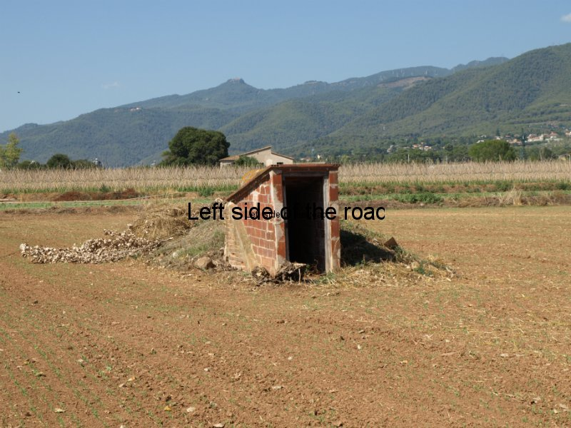 Air-raid shelter No 2 at Rosanes Airfield, La Garriga, Catalonia