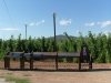 Information Point at Can Sorques at Rosanes Airfield, La Garriga, Catalonia