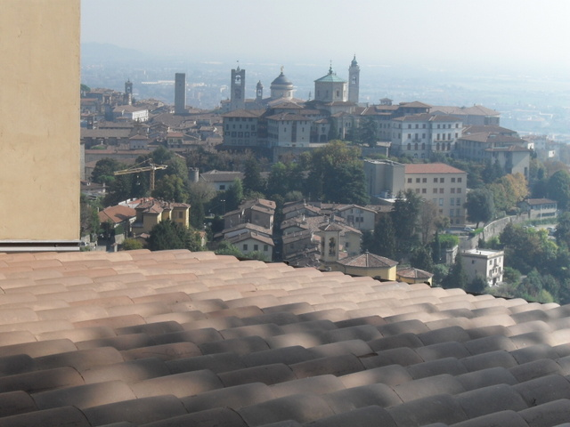Citta Alta from San Vigilio