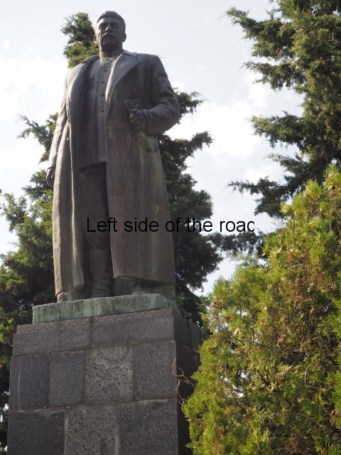 Stalin in Akhalbagi, Gori