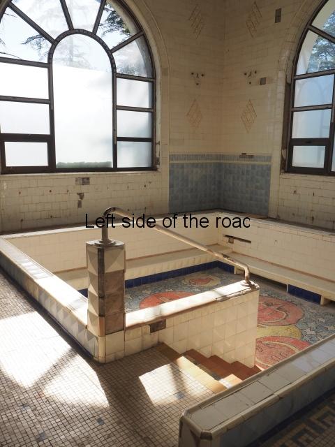 Stalin's private bathhouse, Spring No 6, Tskaltubo