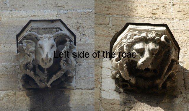 Lion and Bull, Santa Maria Maggiore