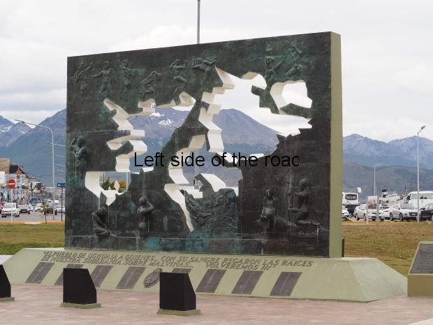 Ushuaia Malvinas Monument