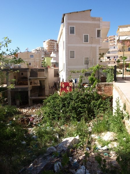 Houses and rubbish Saranda