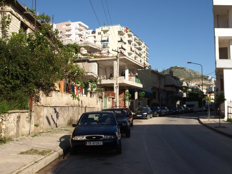 Older houses in Saranda