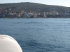 View of Saranda from sea