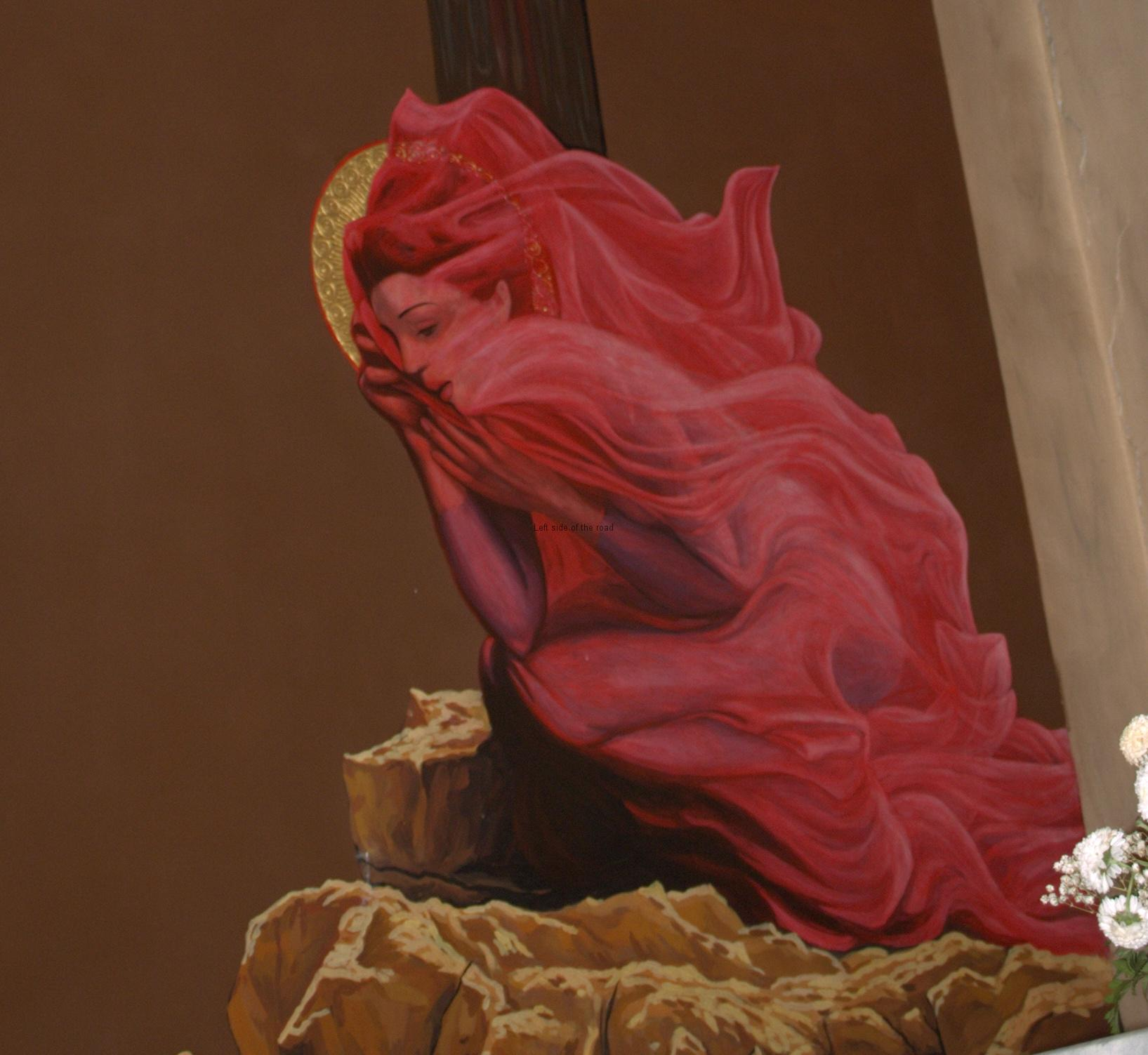 Tirana Catholic Church - Mary Magdalene - detail