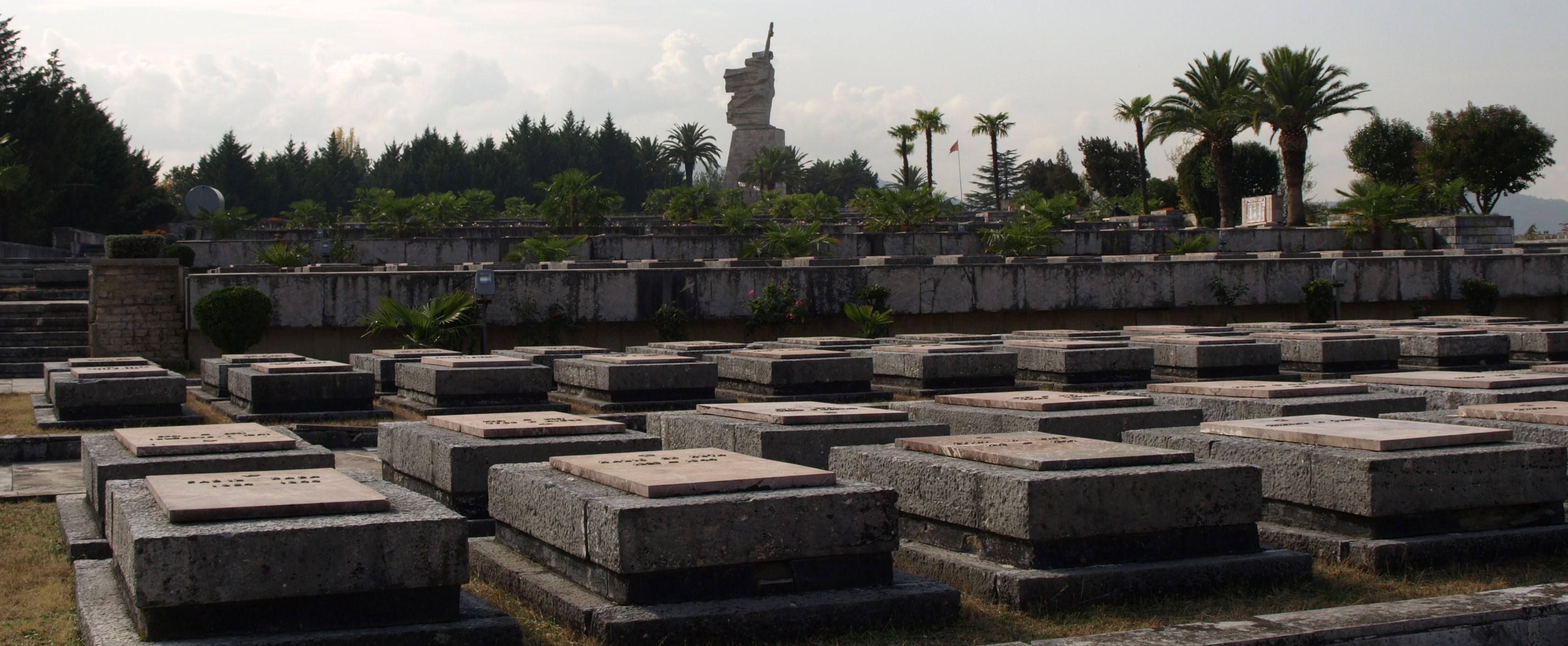 Tirana Martyrs' Cemetery - Partisan Memorials