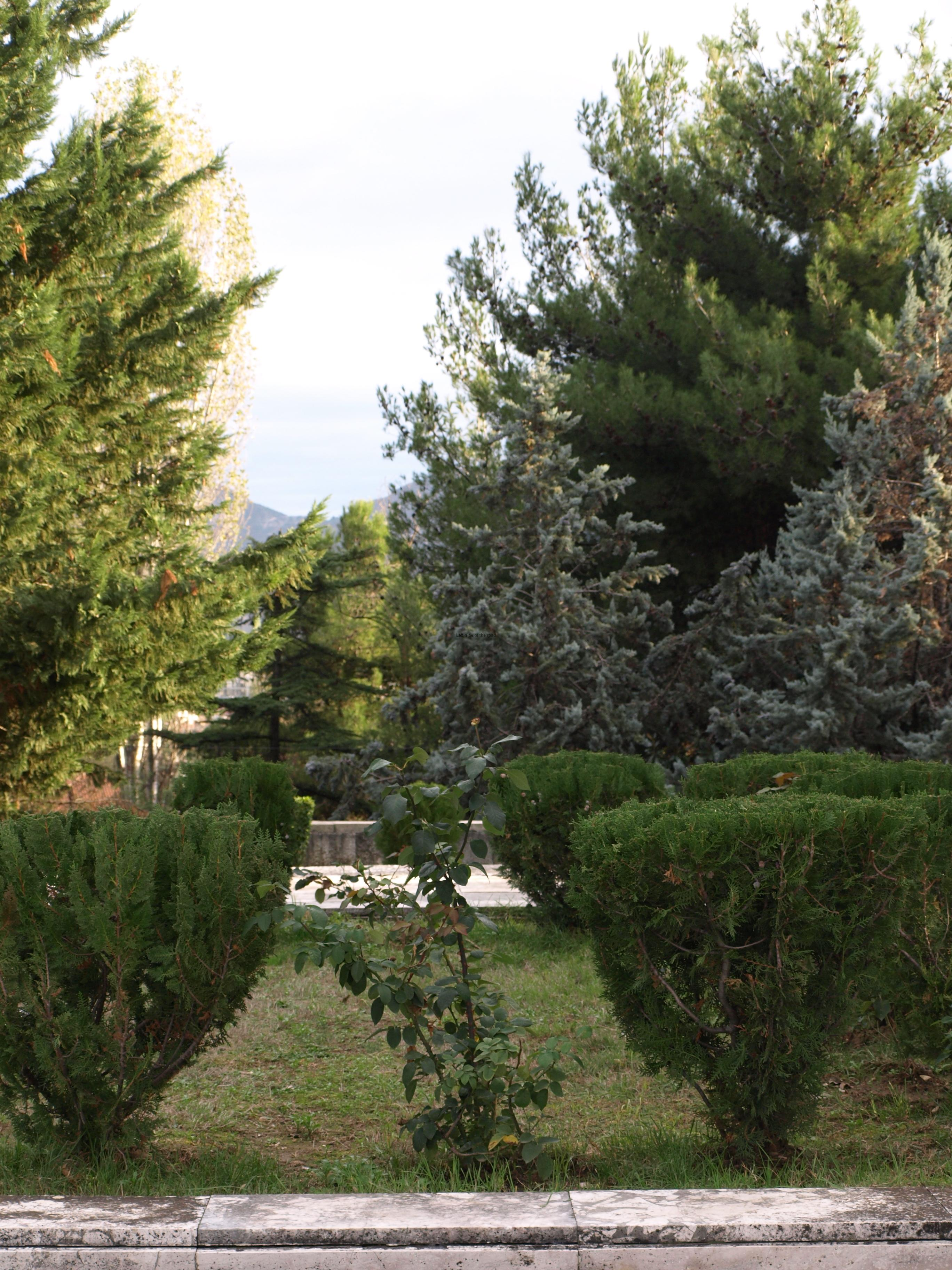Tirana Martyrs' Cemetery - Enver Hoxha
