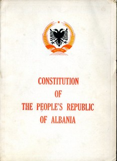 Constitution of the People's Republic of Albania - 1964