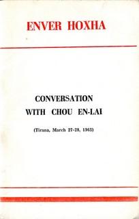 Conversations with Chou En-lai - Enver Hoxha