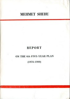 Report on the 6th Five Year Plan (1976-1980)