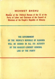 The Government of the PRA will be guided by the Marxist-Leninist General Line