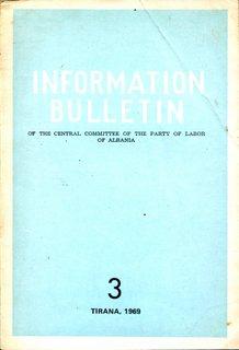 Information Bulletin 1969 No 3 - Part 1