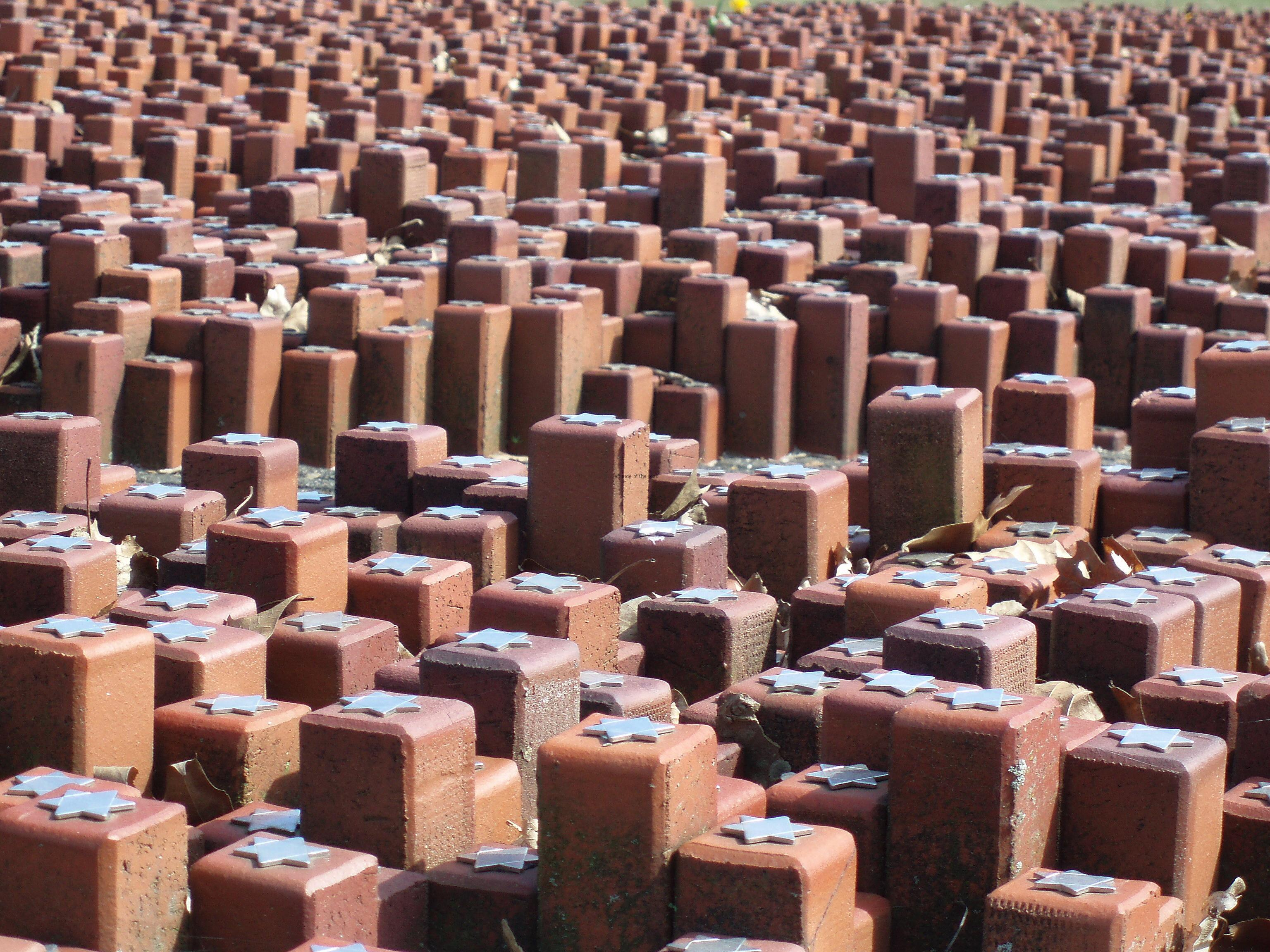 Westerbork Camp Memorial - 102,000 Bricks